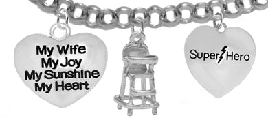 Wife, My Wife, My Joy, My Sunshine, High Chair, Super Hero, No Nickel,Lead 1894-1858-1910B2