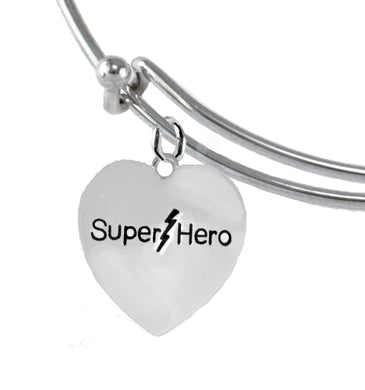 Super Hero Bracelet, AdjustableHypoallergenic Safe- No Nickel. Lead, Or Poisonous Cadmium 1910B9