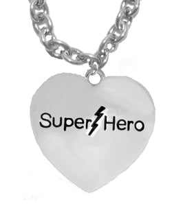 Super Hero, Adjustable Necklace, Hypoallergenic Safe- No Nickel. Lead, Or Poisonous Cadmium  1910N2