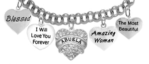 Abuela, Blessed,I Will Love,Abuela, Amazing,Most Beautiful,No Nickel 272-1887-1759-265-276B2