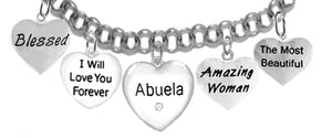 Grandma, Abuela, Blessed,I Will Love,Abuela,Amazing,Beautiful,No Nickel 272-1887-1889-265-276B2