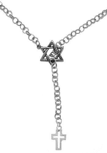 Yeshiva Messianic, Christian Necklace, Hypoallergenic, Safe - Nickel & Lead Free