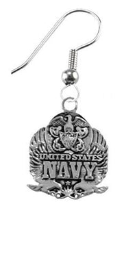 Air Force, I Love My Airman, Earrings Hypoallergenic, Safe - Nickel & Lead Free