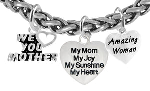We Love You Mother, My Mom, My Joy, My Sunshine,Amazing Women,Nickel,Lead,Free 346-1893-265B17