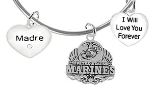Madre, I Will Love You Forever, Marine - Nickel Free