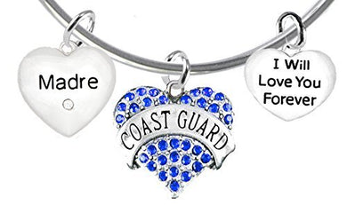 Coast Guard Madre, I Will Love You Forever, Safe - Nickel & Lead Free