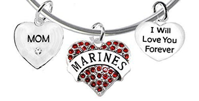 Mom, I Will Love You Forever, Marine Hypoallergenic, Safe - Nickel & Lead Free