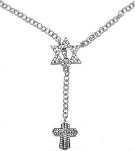 Yeshua Messianic, Christian Necklace, Hypoallergenic, Safe - Nickel & Lead Free
