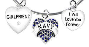 Navy Girlfriend, I Will Love You Forever, Safe - Nickel & Lead Free