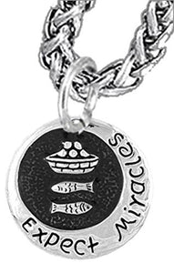 Expect Miracles, The Original Hypoallergenic, Safe - Nickel & Lead Free, Necklace