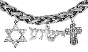 Yeshua Messianic Christian Bracelet, Safe - Nickel & Lead Free, Adjustable Bracelet