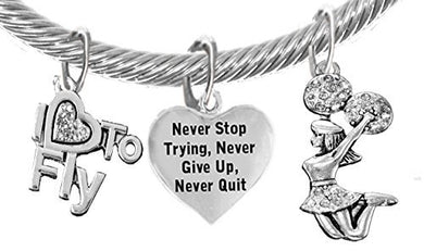 Cheer Never Give Up, Never Quit,