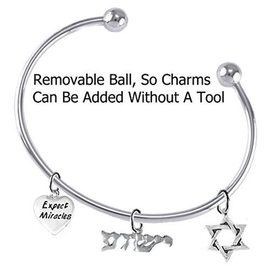 Yeshua Messianic Christian Bracelet - Safe, Nickel & Lead Free Adjustable Bracelet