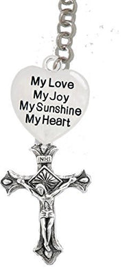 My Love, My Joy, My Sunshine, My Heart & A Crucifix, - Father,