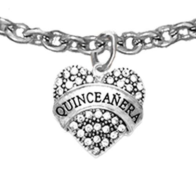 The Perfect Gift Quinceanera Hypoallergenic Adjustable Anklet, Safe - Nickel, Lead & Cadmium Free!