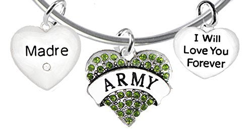 army madre, i will love you forever, hypoallergenic, safe - nickel & lead free