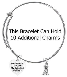 The Perfect Gift Quinceanera Hypoallergenic Adjustable Bracelet, Safe - Nickel, Lead & Cadmium Free!