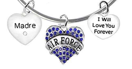 air force madre, i will love you forever, safe - nickel & lead free