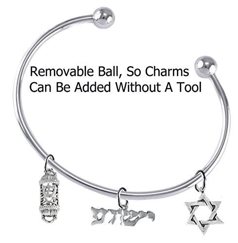 Messianic Christian Bracelet, Hypoallergenic, Safe - Nickel & Lead Free, Adjustable Bracelet