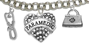 Paramedic, EMT, Adjustable Charm Bracelet, Hypoallergenic, Safe - Nickel & Lead Free