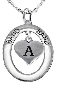 School Band, Music, Orchestra Jewelry, Hypoallergenic Adjustable Necklace, Safe - Nickel & Lead Free