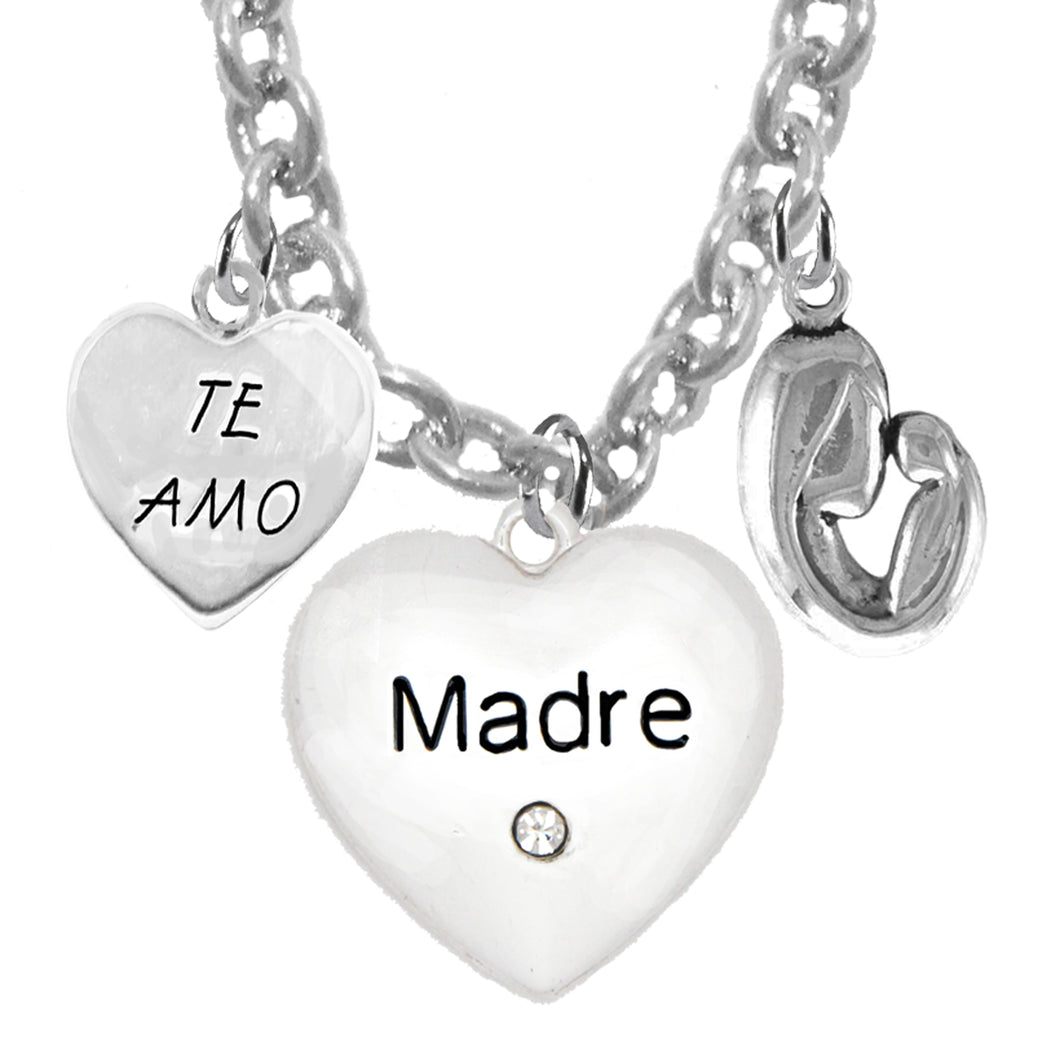 Te Amo, Madre, Mother And Her Child,Hypoallergenic, Safe, No Nickel, Cadmium, Lead  463-1891-571N1