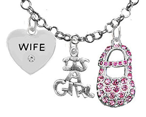 "Baby Shower Gifts, Wife, ""It's A Girl"", Necklace, Hypoallergenic, Safe - Nickel & Lead Free"