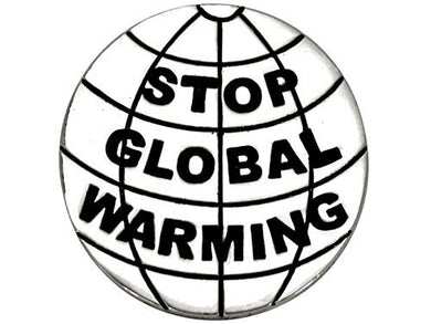 Stop Global Warming, (Package Of 12, $9.38 Each) Real Jewelry, Not Plastic or Paper - Safe