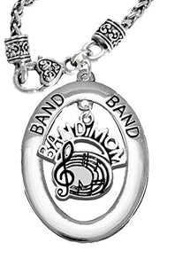 "Band ""Mom"", Hypoallergenic Adjustable Necklace, Safe - Nickel, Lead & Cadmium Free"