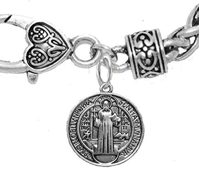 Saint Benedict Protective Charm & Prayer, Protect Me from Harm, From Evil, From the Devil.