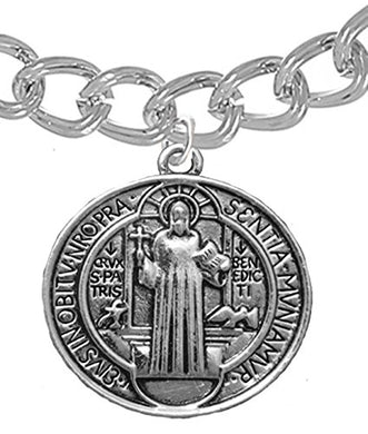 Saint Benedict Protect Me from Harm Prayer, From Evil, From the Devil. Nickel, Lead Cadmium Free