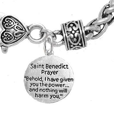 Saint Benedict Prayer & Protective Charm, Protect Me from Harm, From Evil, From the Devil.