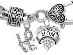 Love, My Mom, My Joy, My Sunshine, Hypoallergenic, Safe, Nickel, Cadmium, Lead Free 1273-1215B1