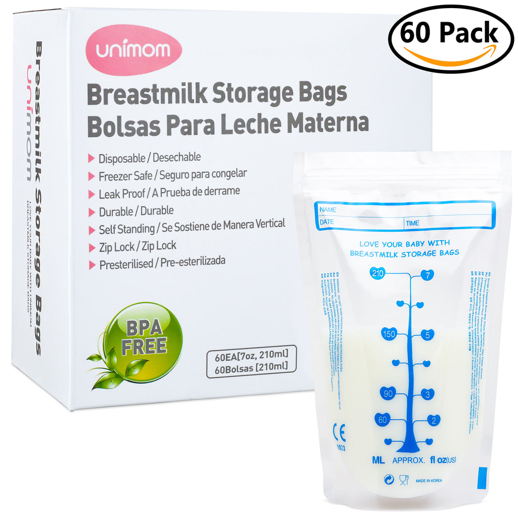 60 Standard Breast Milk Storage Bags