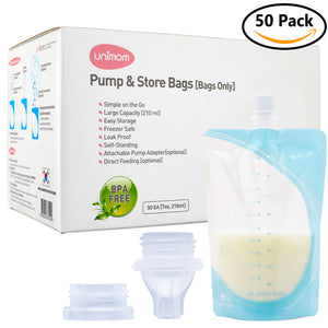50 Pump and Store Milk Bags