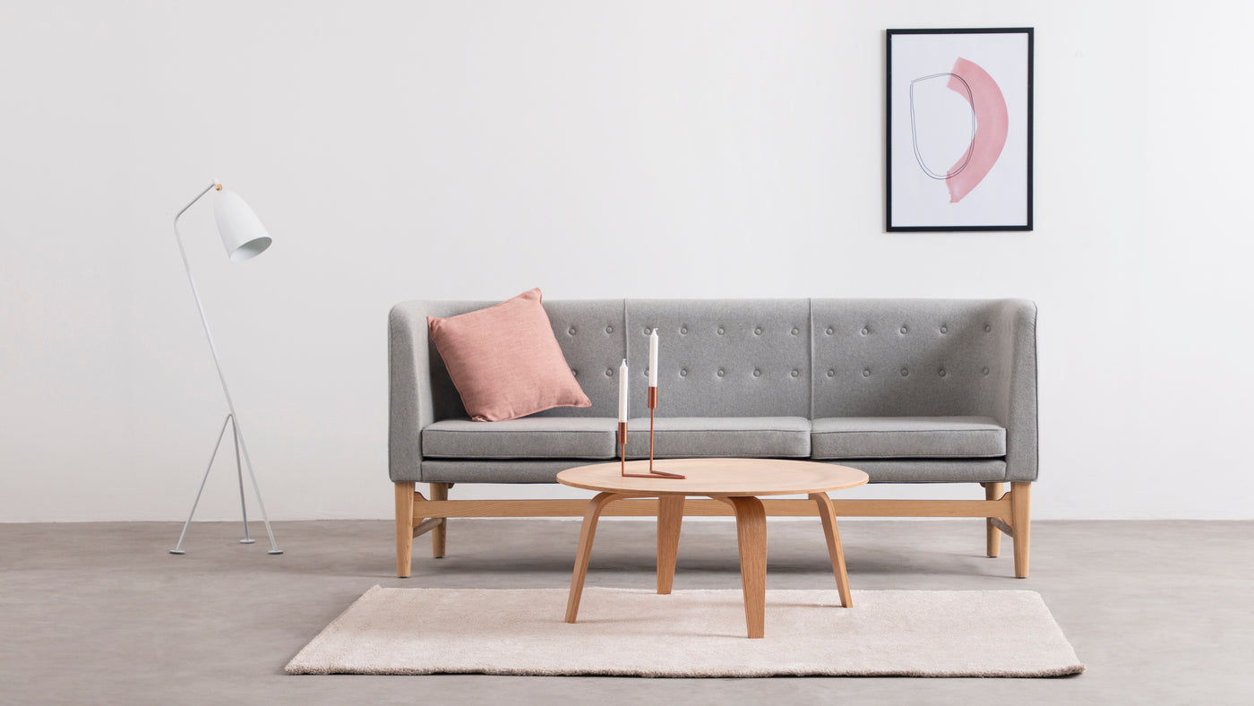Sophisticated seating|Truly exquisite in its appearance, this spacious sofa is built with style and elegance in mind. Perfect for stylish homes and businesses, this seating solution is sure to make a statement.