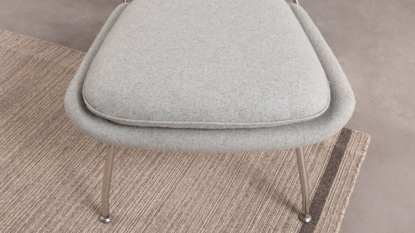 Built for longevity|In addition to creating comforting furnishings, Saarinen demanded quality, only crafting his creations from the finest materials available. With proper care, this stool is certain to be passed down through multiple generations.