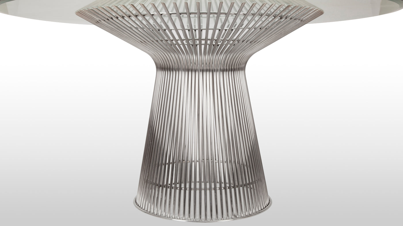 Design meets durability|Platner's designs are undoubtedly some of the most prized of his time. The designer is known for creating beautifully functional furnishings from hardwearing steel, resulting in durable contributions that are meant to be used and enjoyed on a daily basis.