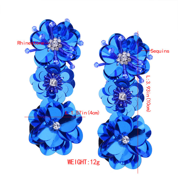 Bohemian Flower Earring