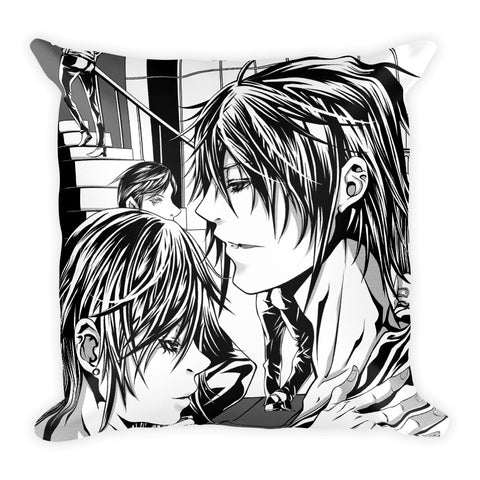 Miss call Square Pillow