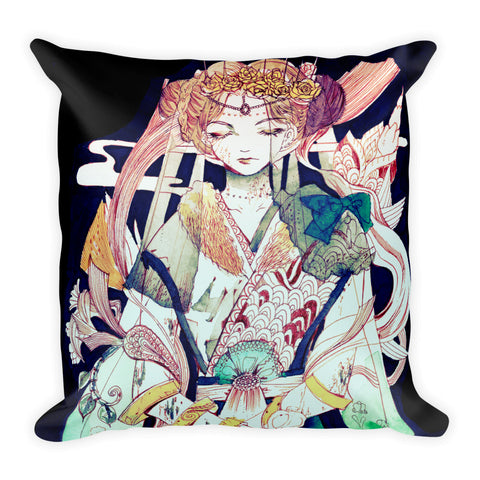Westal no.4 'the lost marriage' Square Pillow