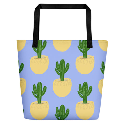 'Cactus 1' Beach Bag