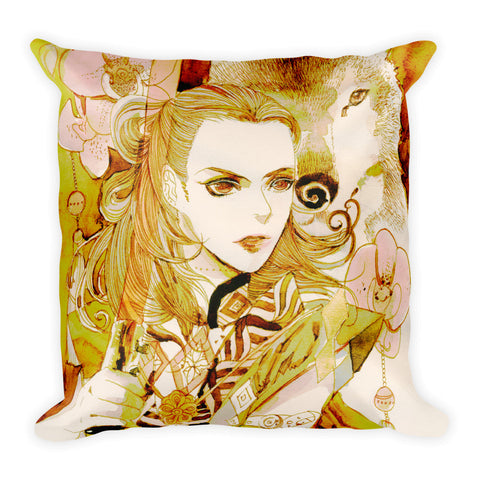 Westal no.1 'Oriental Darklord' Square Pillow