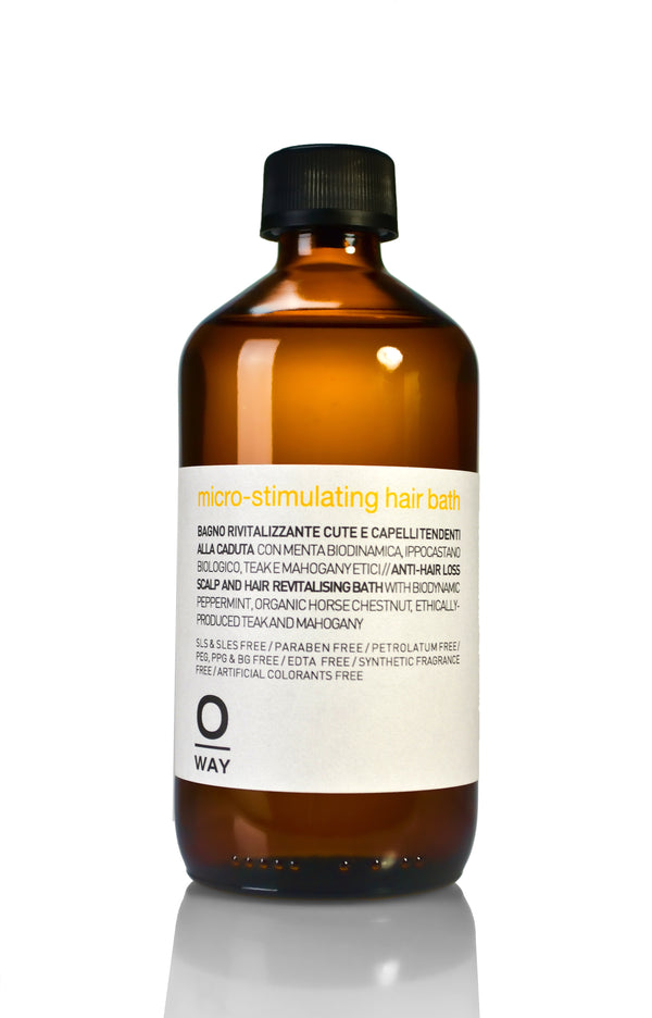 hair loss Micro-stimulating hair bath