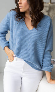 Como Cashmere Fisherman Sweater