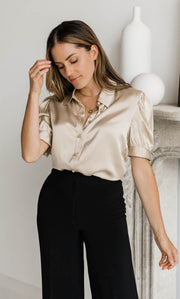 Juliet Silk Blouse