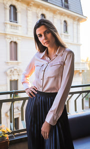 Bellagio Silk Blouse