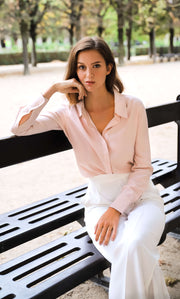 Florence Silk Blouse