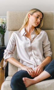 Monaco Silk Blouse