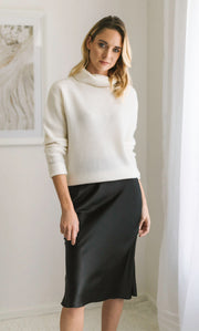 Tessa Cashmere Turtleneck Sweater